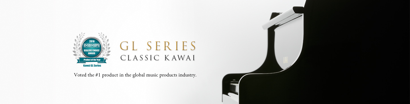 GL series: Award winning grand pianos