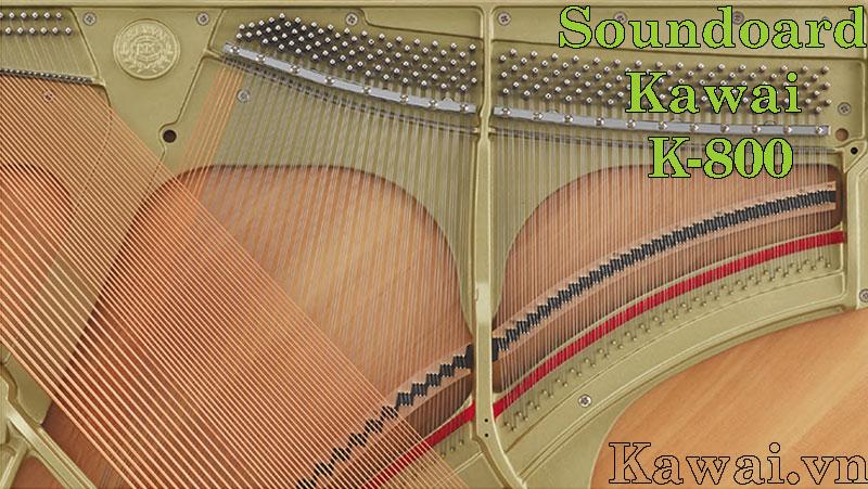 soundboard piano Kawai K-800