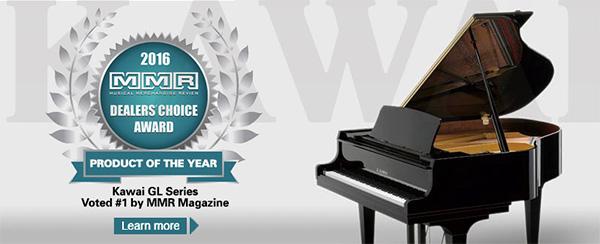 Piano Kawai GL Series Giành Giải Thưởng MMR Năm 2016
